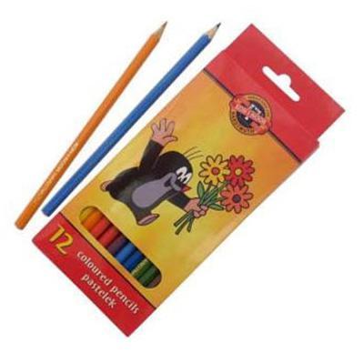 Набор цветных карандашей Koh-i-Noor Крот 12 шт 3652/12 26KS 3652/12 26KS канцелярия koh i noor набор ластиков крот