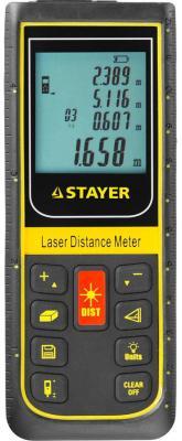 Лазерный дальномер Stayer Profi SDL-100 34959 лента stayer profi клейкая противоскользящая 50мм х 5м 12270 50 05