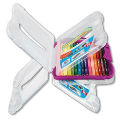 Набор цветных карандашей Maped Color Peps 12 шт 17.5 см 832032 maped карандаши цветные color peps треугольные 12 цветов maped