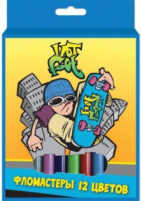 Набор фломастеров Action! HOT FOOT 12 шт разноцветный HF-AWP105-12 в ассортименте HF-AWP105-12 набор фломастеров action discovery 50 шт разноцветный dv awp105 50 в ассортименте
