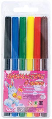Набор фломастеров Action! Fancy 6 шт разноцветный FWP129-06 FWP129-06