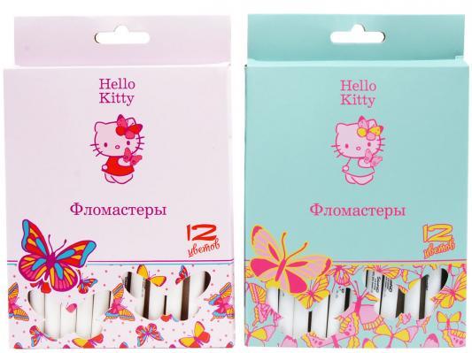 Набор фломастеров Action! Hello Kitty 12 шт разноцветный HKO-AWP205-12 в ассортименте HKO-AWP205-12 набор цветных карандашей action hello kitty 12 шт hko acp305 12