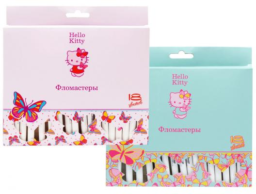 Набор фломастеров Action! Hello Kitty 18 шт разноцветный HKO-AWP205-18 в ассортименте HKO-AWP205-18 набор фломастеров action stella 12 шт sa awp205 12 в ассортименте