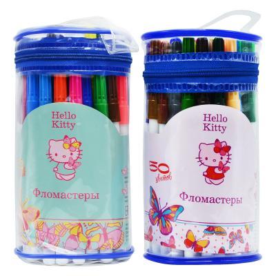 Набор фломастеров Action! Hello Kitty 50 шт разноцветный HKO-AWP205-50 в ассортименте HKO-AWP205-50 набор фломастеров action stella 12 шт sa awp205 12 в ассортименте