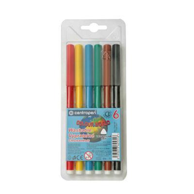 Фото - Набор фломастеров Centropen COLOUR WORLD 6 шт разноцветный 7550/06 TP 7550/06 TP centropen набор смываемых фломастеров colour world 18 цветов