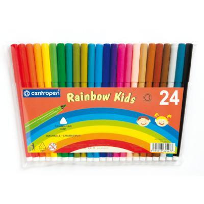Набор фломастеров Centropen RAINBOW KIDS 24 шт разноцветный 7550/24 7550/24