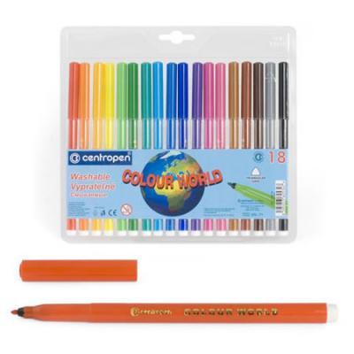 Фото - Набор фломастеров Centropen COLOUR WORLD 30 шт разноцветный 7550/30 TP centropen набор смываемых фломастеров colour world 18 цветов