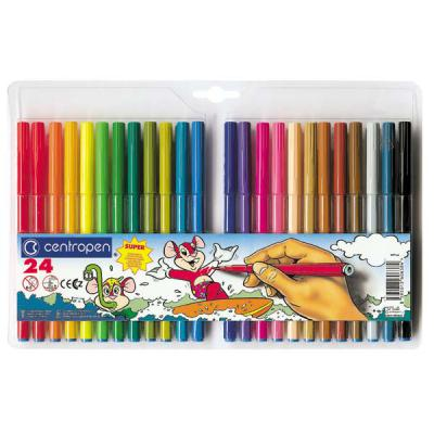 Купить Набор фломастеров Centropen 7770/24 24 шт разноцветный