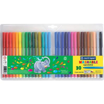 Набор фломастеров Centropen 7790/30 TP 30 шт разноцветный 7790/30 TP набор фломастеров centropen 7790 10 tp 10 шт разноцветный 7790 10 tp