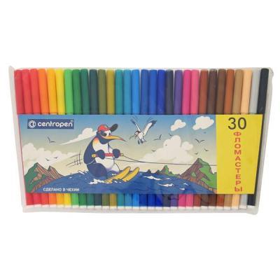 Набор фломастеров Centropen ПИНГВИНЫ 30 шт разноцветный 7790/30-86 7790/30-86