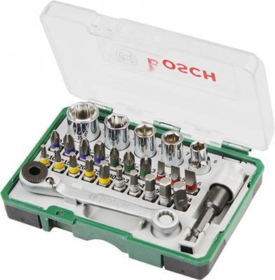 Набор бит Bosch 27 шт 2607017160 набор бит bosch 32 шт 2607017063