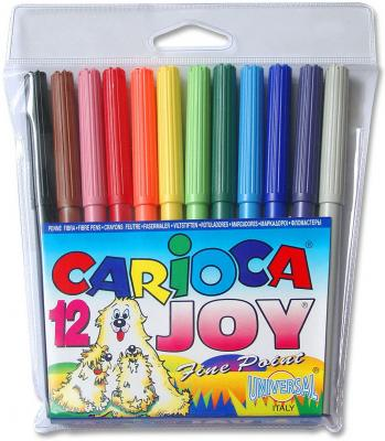 Набор фломастеров Universal CARIOCA JOY 12 шт разноцветный 40531/12 40531/12