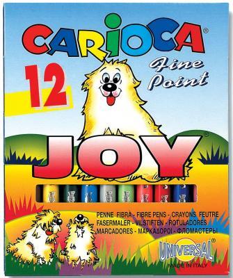 Набор фломастеров Universal CARIOCA JOY 1 мм 12 шт разноцветный 40614/12 40614/12