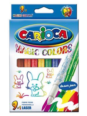 Набор фломастеров Universal CARIOCA ERASABLE 2 мм 10 шт разноцветный 41238/10 41238/10 набор фломастеров universal carioca mini jumbo 6 шт разноцветный 40106 6