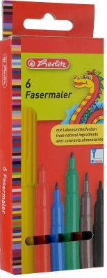 Набор фломастеров Herlitz Дракон 6 шт разноцветный 8649030
