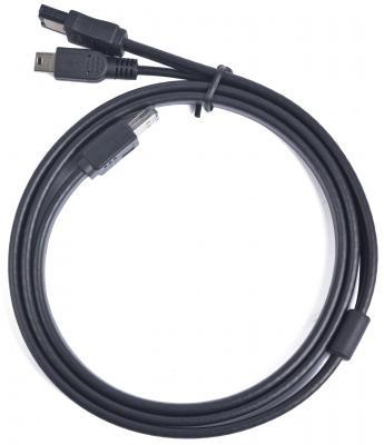 Кабель eSATA кабель с питанием от Mini USB Gembird CC-ESATAP-ESATA-USB5P-1M