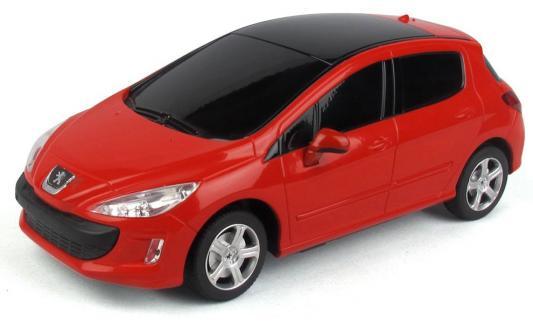 Машинка на радиоуправлении RASTAR Peugeot 308 пластик от 6 лет серебристый 39800