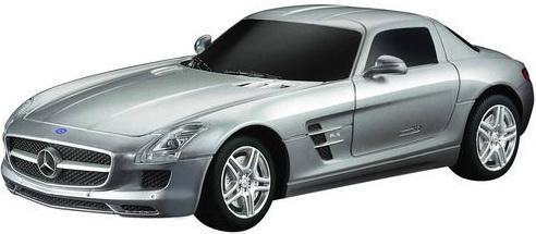 Купить Машинка на радиоуправлении Rastar Mercedes SLS AMG ассортимент от 8 лет пластик в ассортименте 40100, Радиоуправляемые игрушки