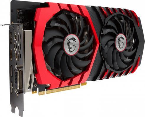 Видеокарта 3072Mb MSI GeForce GTX 1060 Gaming X PCI-E 192bit GDDR5 DVI HDMI DP GTX 1060 GAMING X 3G Retail