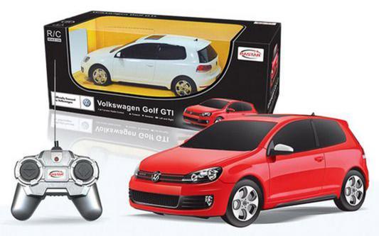 Машинка на радиоуправлении Rastar Volkswagen Golf GTI ассортимент от 3 лет металл в ассортименте 44700 машинка на радиоуправлении rastar aston martin1 24 ассортимент от 8 лет пластик в ассортименте 40200