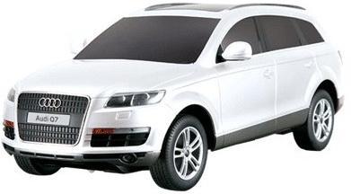 Машинка на радиоуправлении Rastar Audi Q7 21,6х9,2х7,2см ассортимент от 5 лет пластик в ассортименте 27300 радиоуправляемая игрушка rastar audi q7 1 24 27300