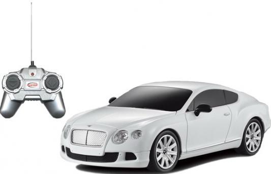 Машинка на радиоуправлении Rastar Bentley Continental GT speed 1:24 ассортимент от 5 лет пластик в ассортименте 48600 машинка на радиоуправлении rastar hummer h2 suv красный от 3 лет пластик 28500