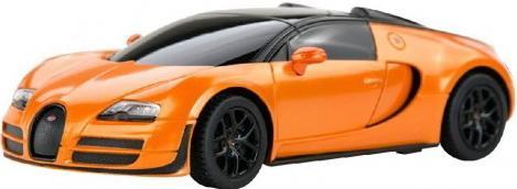 Машинка на радиоуправлении Rastar Bugatti Grand Sport Vitesse1:24 ассортимент от 3 лет пластик в ассортименте 47000 rastar 1 24 porsche 918 spyder серебро 71400