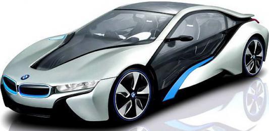 Машинка на радиоуправлении Rastar BMW I8, свет 1:14 пластик от 3 лет ассортимент 6930751307681 в ассортименте