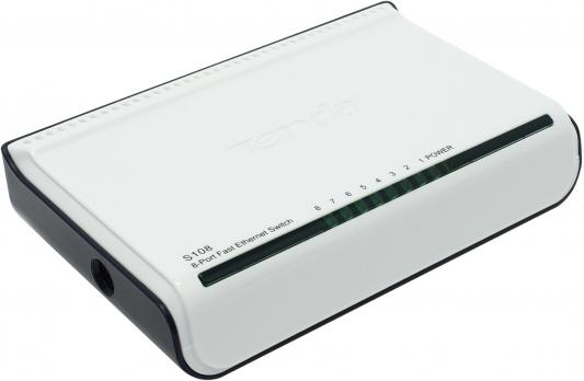 Коммутатор Tenda S108 mini 8 портов 10/100 Мбит/сек