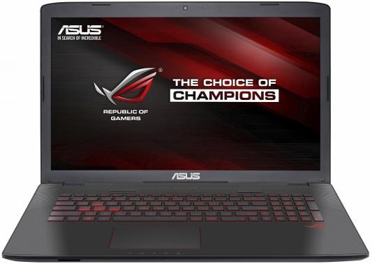 Ноутбук ASUS GL752Vw 17.3 1920x1080 Intel Core i5-6300HQ 90NB0A42-M04910 ноутбук asus rog gl752vw 90nb0a42 m06740 90nb0a42 m06740