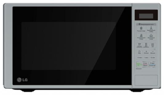 СВЧ LG MS2342DS 800 Вт серебристый батарейку на lg kg 800