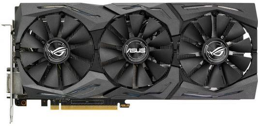 Видеокарта 6144 Mb ASUS GeForce GTX1060 PCI-E 192bit GDDR5 DVI HDMI DisplayPort  STRIX-GTX1060-6G-GAMING Retail asus radeon rx 460 1200mhz pci e 3 0 4096mb 7000mhz 128bit dvi hdmi dp hdcp strix rx460 4g gaming