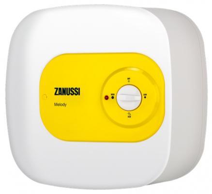 Водонагреватель накопительный Zanussi ZWH/S 10 Melody U 10л 1.5кВт бело-желтый