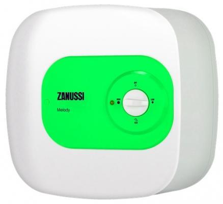 Водонагреватель накопительный Zanussi ZWH/S 15 Melody O 15л 1.5кВт бело-зеленый