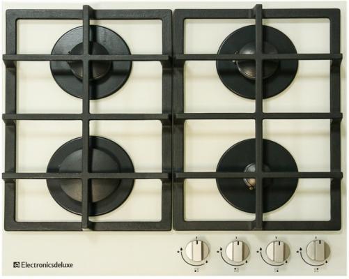 Варочная панель газовая Electronicsdeluxe GG4 750229F -030 бежевый