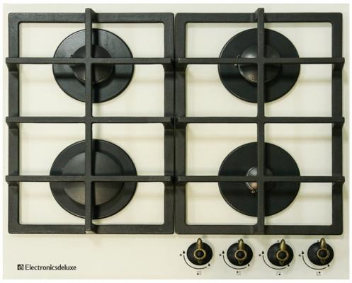 Варочная панель газовая Electronicsdeluxe GG4 750229F-016 бежевый