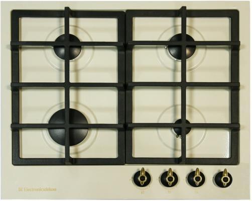 Варочная панель газовая Electronicsdeluxe TG4 750231F-022 бежевый