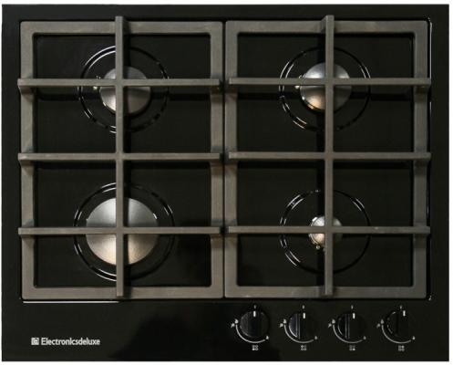 Варочная панель газовая Electronicsdeluxe TG4 750231F-028 черный