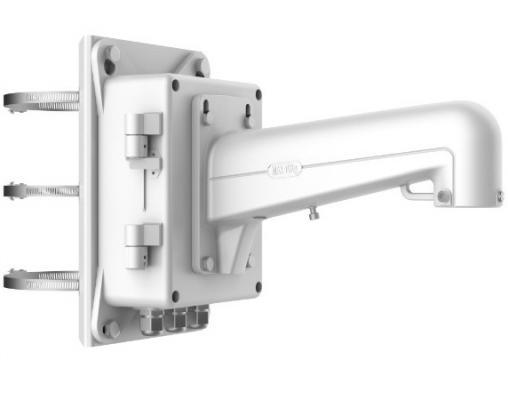 Кронштейн для камер Hikvision DS-1602ZJ-BOX-POLE аккумуляторы для камер smarterra аккумулятор для камер