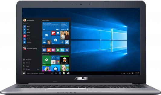Ноутбук ASUS K501UX-DM282T 15.6 1920x1080 Intel Core i7-6500U 90NB0A62-M03370 ноутбук asus k501ux dm282t 15 6 intel core i7 6500 2 5ghz 8gb 1tb hdd geforce gtx 950mx 90nb0a62 m03370