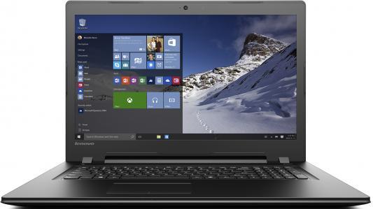 "Ноутбук Lenovo IdeaPad B7180 17.3"" 1600x900 Intel Pentium-4405U 80RJ00EYRK"