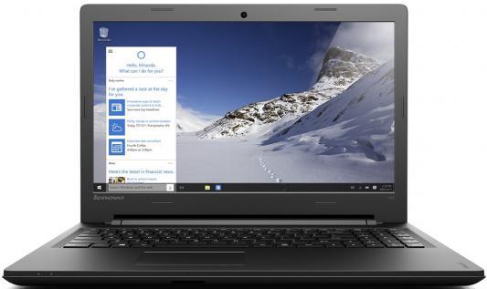 """Ноутбук Lenovo IdeaPad 100-15IBD 15.6"""" 1366x768 Intel Core i3-5005U 80QQ00SCRK"""