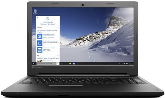 """Ноутбук Lenovo IdeaPad 100 15.6"""" 1366x768 Intel Core i3-5005U 80QQ00SDRK"""