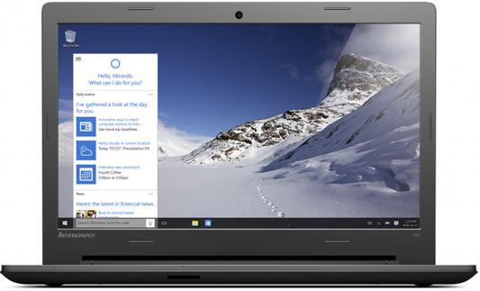 "Ноутбук Lenovo IdeaPad 100-15IBY 15.6"" 1366x768 Intel Pentium-N3540 80MJ00A0RK"