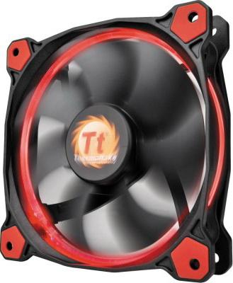 Вентилятор Thermaltake Riing 14 140x140x25 3pin 22.1-28.1dB красная подсветка CL-F039-PL14RE-A