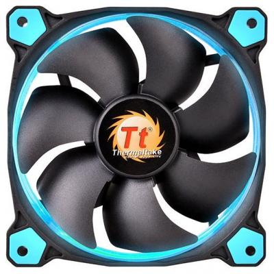 Вентилятор Thermaltake Riing 14 140x140x25 3pin 22.1-28.1dB синяя подсветка CL-F039-PL14BU-A цена