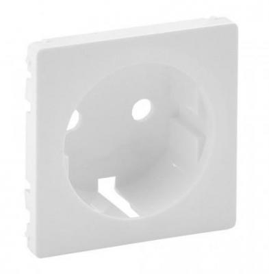 Лицевая панель Legrand Valena Life для розетки 2К+З белый 755200
