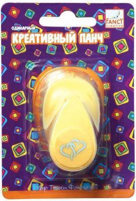 Фигурный дырокол Fancy Creative Сплетение сердец 1 лист FDP160/11 одинарный