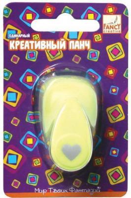 Панч креативный одинарный СЕРДЕЧКО-2 (d=16 мм)
