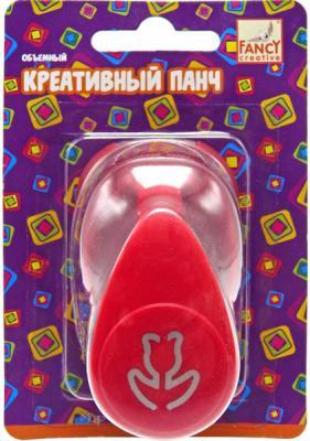 Фигурный дырокол Fancy Creative Тюльпанчик 1 лист FDP165/3 объемный